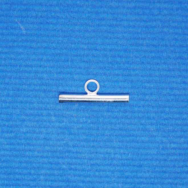 Bar for toggle Clasp | Silver Base Metal