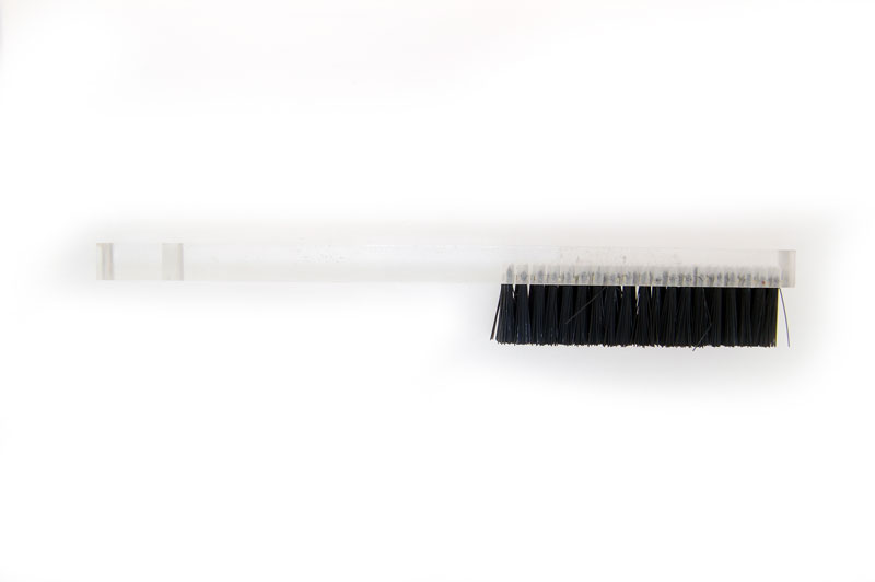 Black Bristle Brush