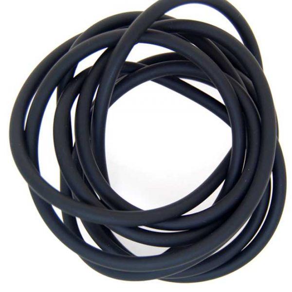 Neoprene Cord Hollow (5mm)   Per Metre
