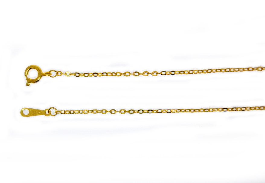 Trace Chain Gold Plate