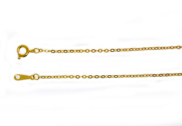 Snake Chain Gold Plate 100cm