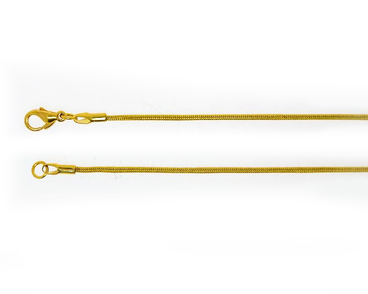 Snake Chain Gold Plate 50cm