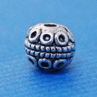 Spacer bead (8mm) | base metal