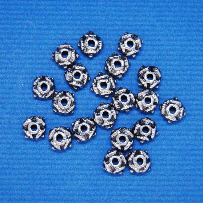 Spacer Bead | Alloy (4X4.6mm)