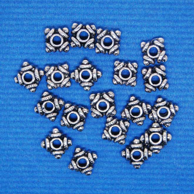 Spacer Bead | Alloy (7X3mm)
