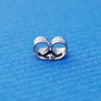 Butterfly earring back | surgical steel