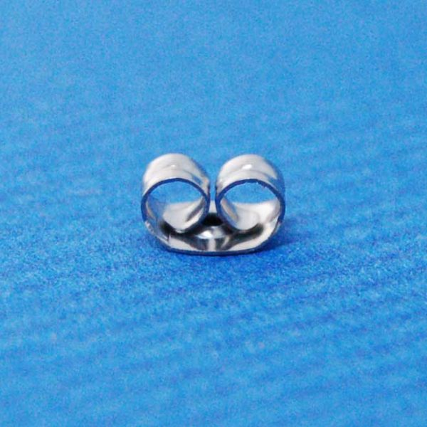 Butterfly earring back | surgical steel