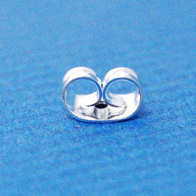 Butterfly earring back | silver base metal