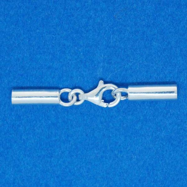 Cord End (2mm) | Sterling Silver