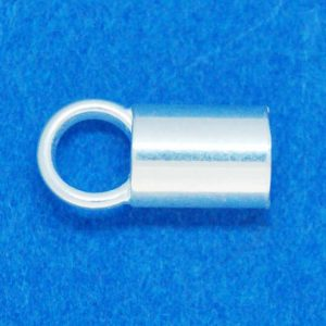 Cord End (5x8mm) | Sterling Silver