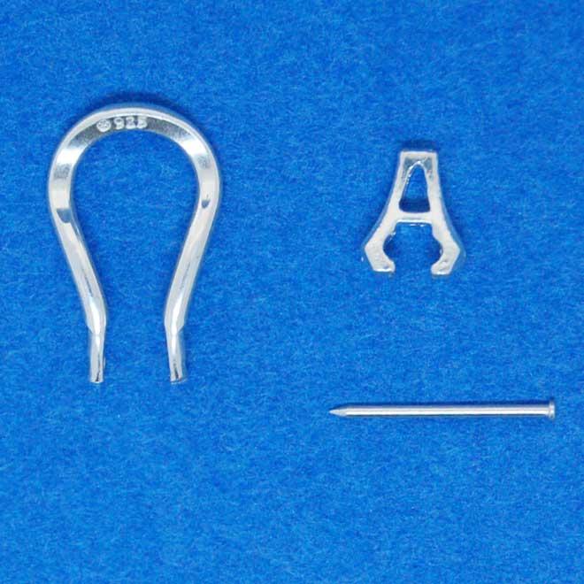 Earclip Omega Looping Earring Fitting