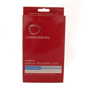Connoissuers Silver Polishing Cloth