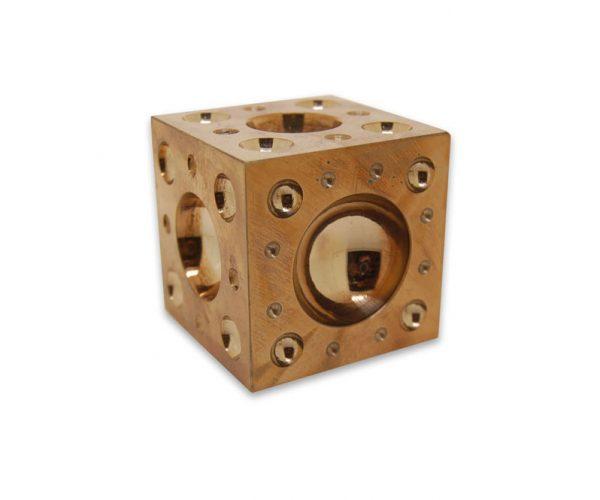 Brass Dapping Block