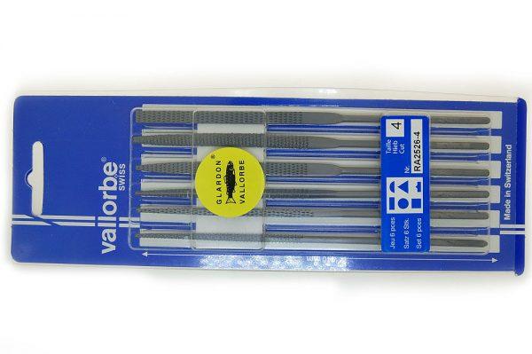 Vallorbe Wax Needle File Set 6