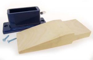 Bench Pin w/ Metal Holder