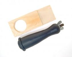 Bench Pin w/Nylon Ring Clamp Holder