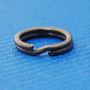 Split Ring (10mm) | Antique Brass Metal