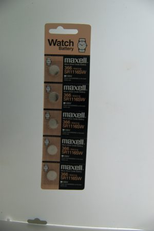 Maxell Micro Silver Oxide Batteries SR1116SW
