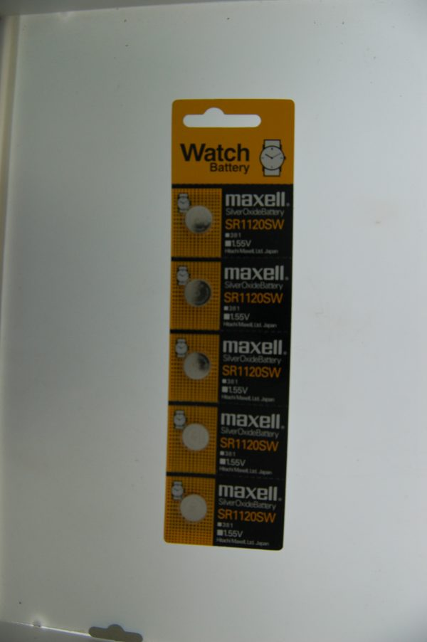 Maxell Silver Oxide Battery SR1120SW