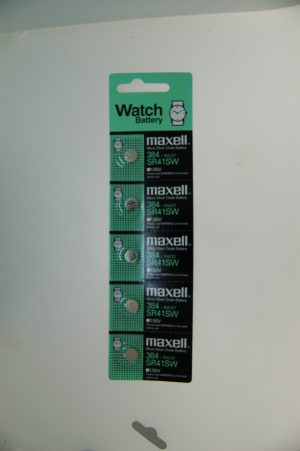 Maxell Micro Silver Oxide Battery SR41SW