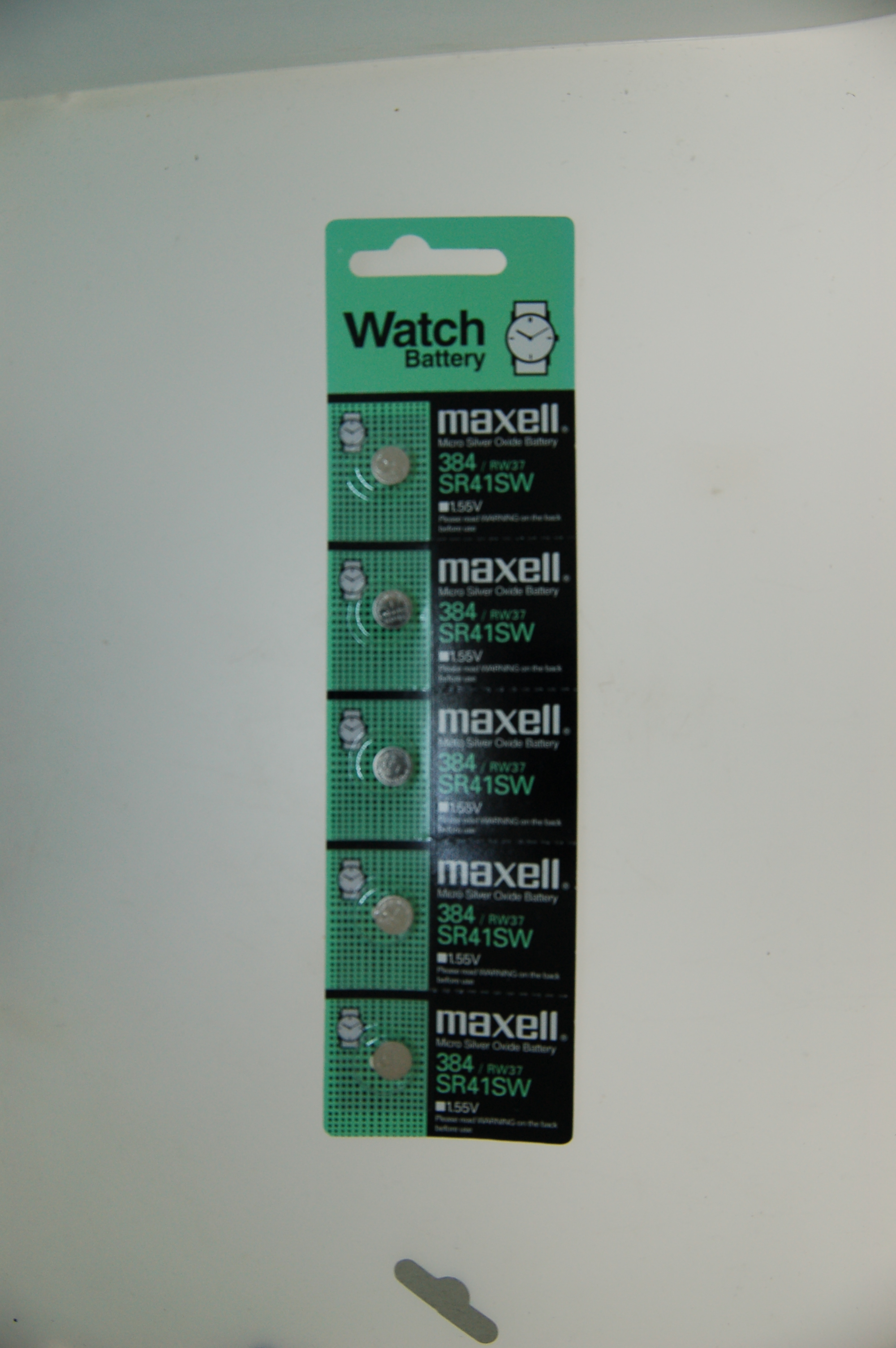 Maxell Micro Silver Oxide Battery SR41SW