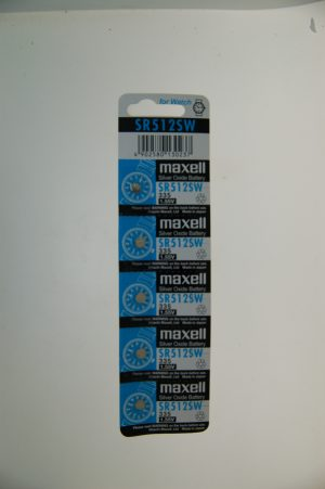 Maxell Silver Oxide Battery SR512SW