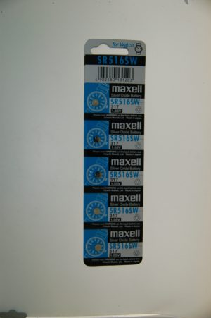 Maxell Silver Oxide Battery SR516SW