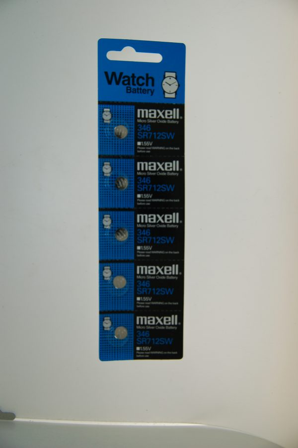 Maxell Micro Silver Oxide Battery SR712SW