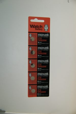 Maxell Micro Silver Oxide Battery SR920W