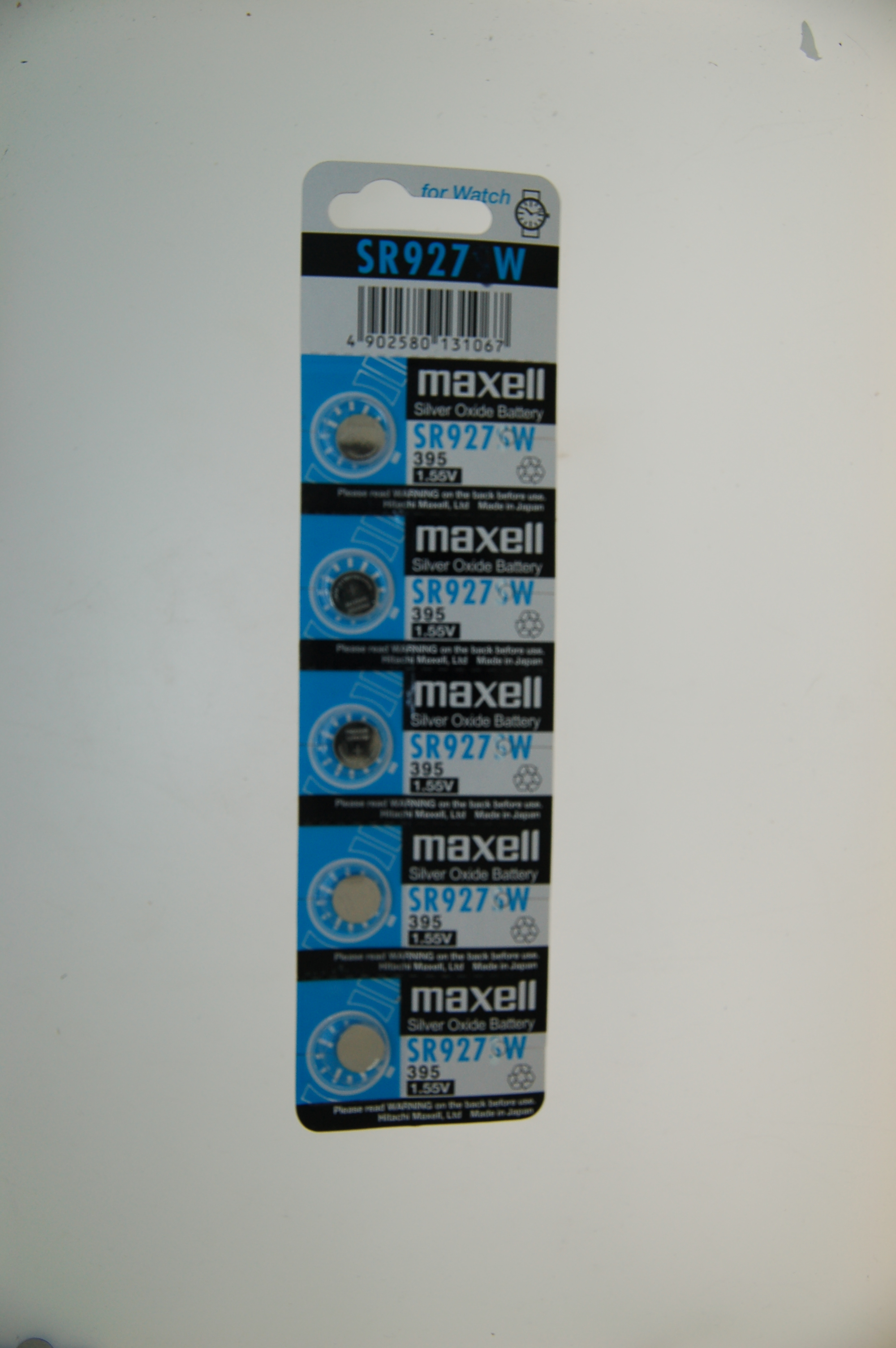 Maxell Siilver Oxide Battery SR927W
