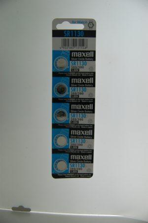 Maxell Silver Oxide Battery SR1130
