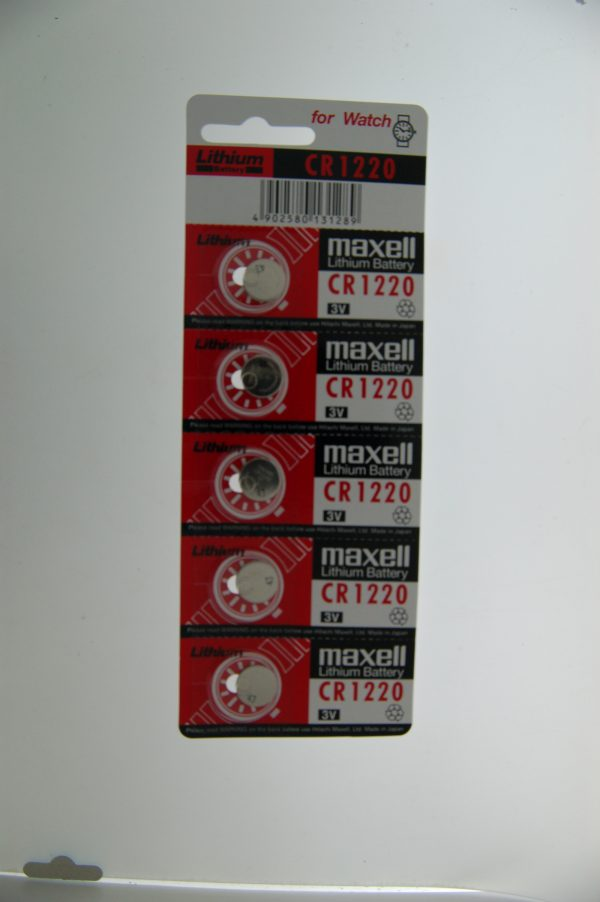 Maxell Lithium Battery CR1220
