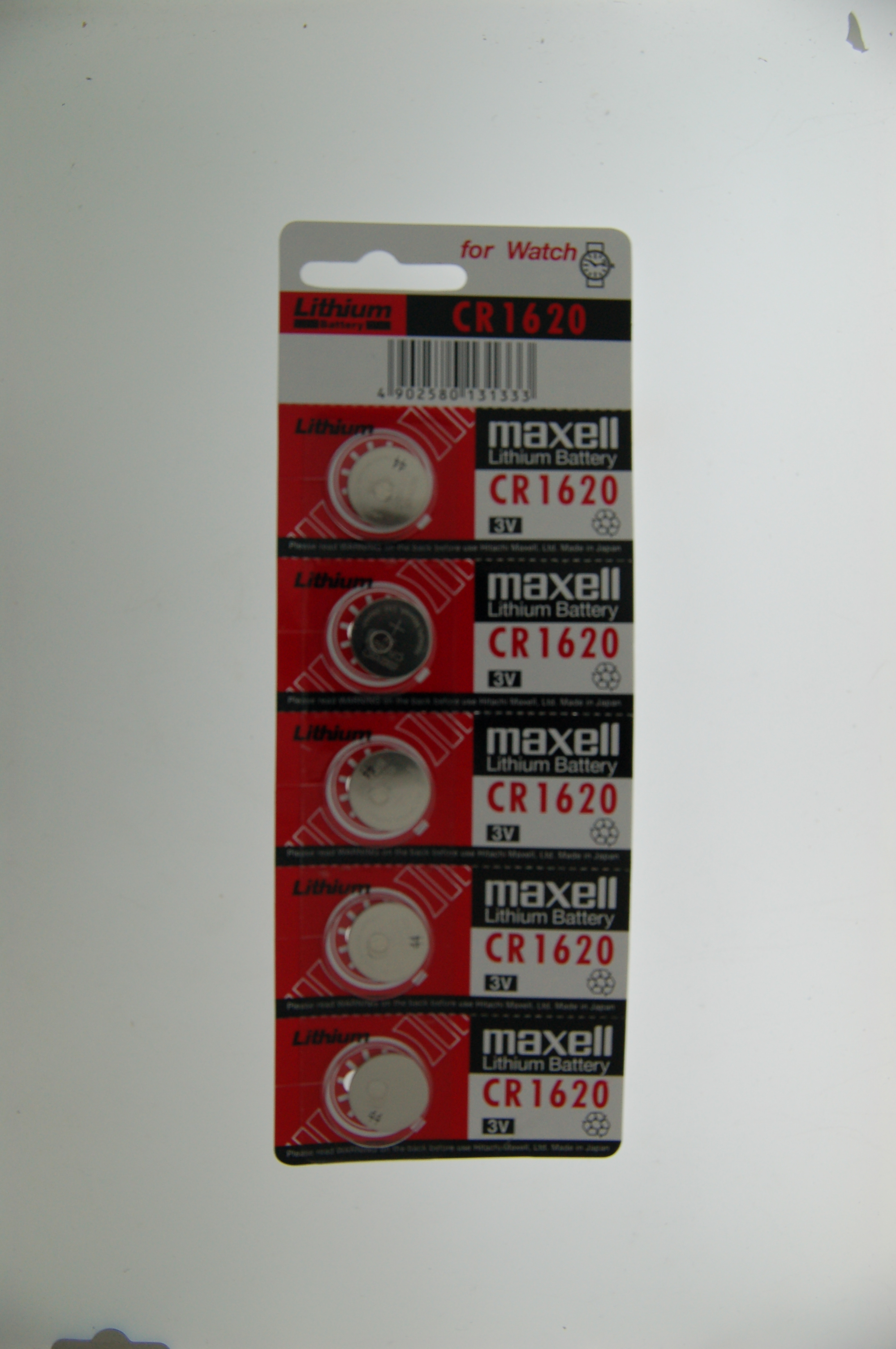 Maxell Lithium Battery CR1620