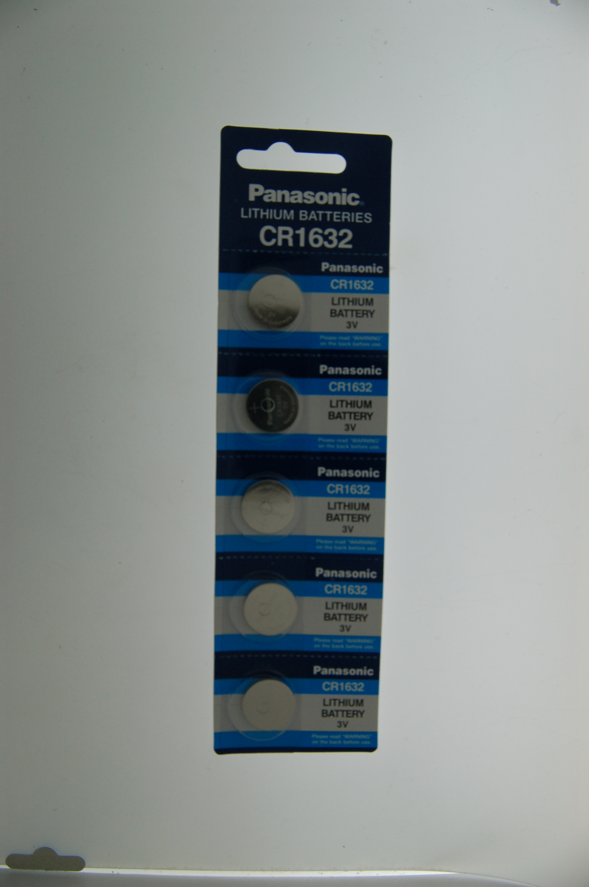 Panasonic Lithium Battery CR1632