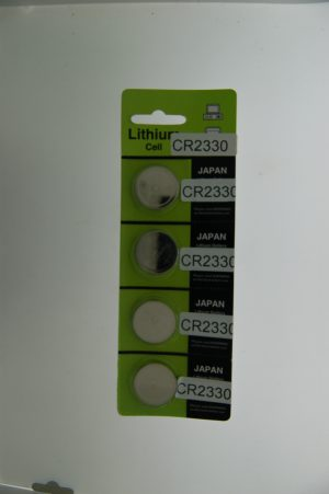 Japan Lithium Battery CR2330