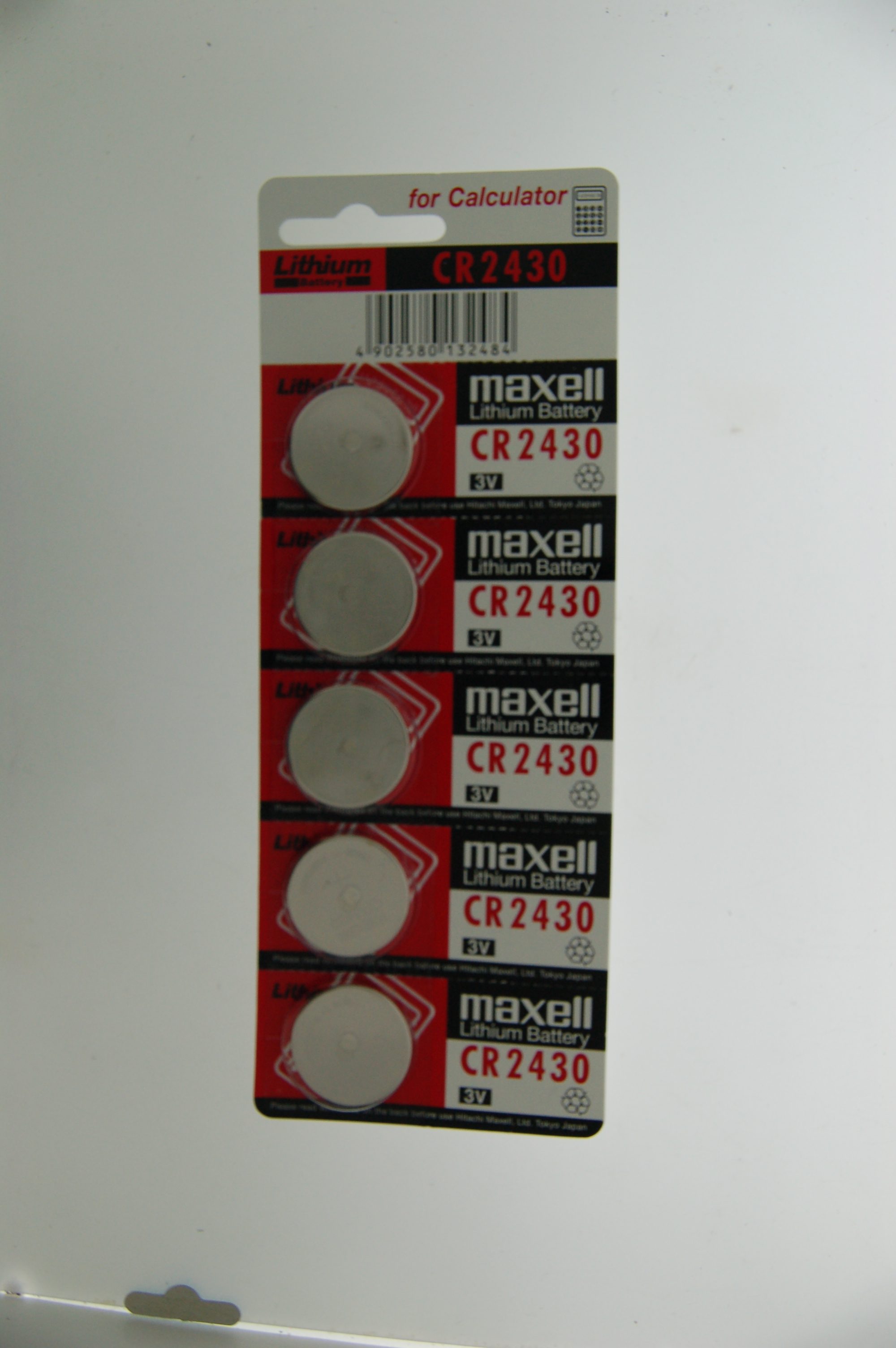 Maxell Lithium Battery CR2430