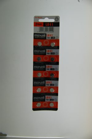 Maxell Alkaline Battery LR41