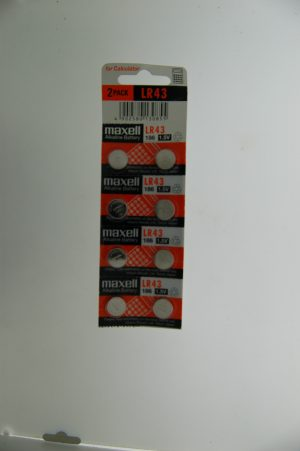 Maxell Alkaline Battery LR43