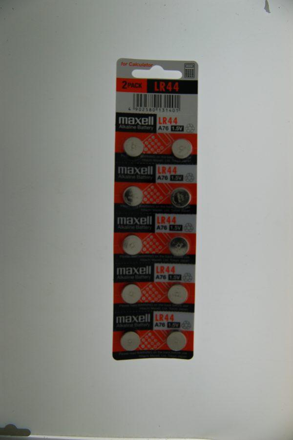 Maxell Alkaline Battery LR44