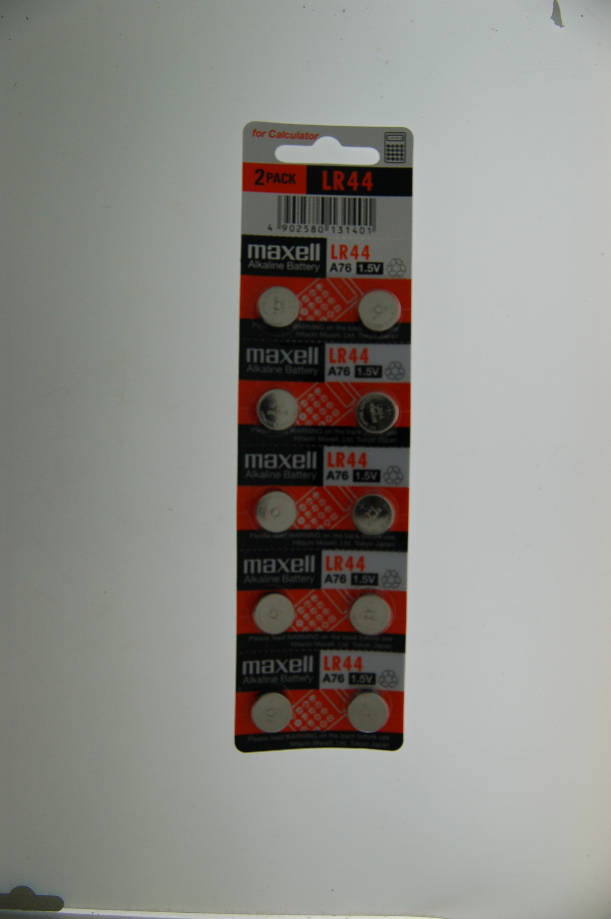 Maxell Alkaline Battery LR44