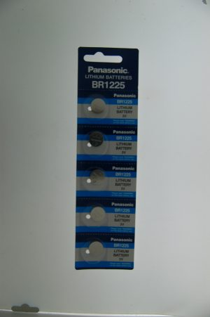 Panasonic Lithium Battery BR1225/CR1225