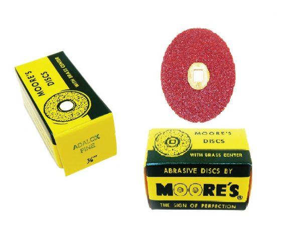 SANDING DISC'S MOORE'S abrasive Discs (Fine)