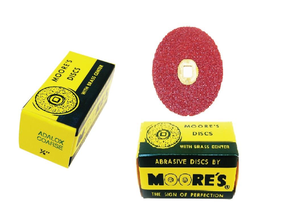 SANDING DISC'S MOORE'S abrasive Discs (Coarse)