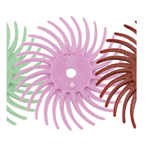 3M RADIAL BRISTLE DISC (PINK)