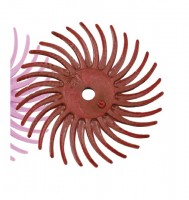 3M RADIAL BRISTLE DISC (RED)