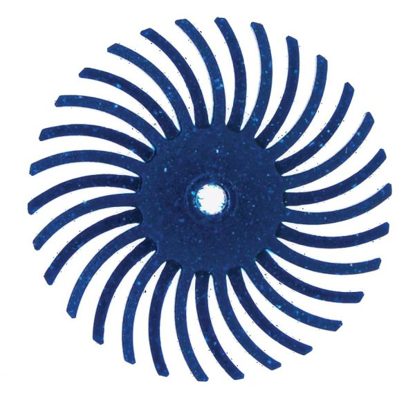 RADIAL BRISTLE DISC (BLUE)