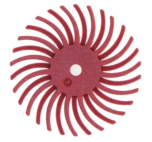 RADIAL BRISTLE DISC (RED)