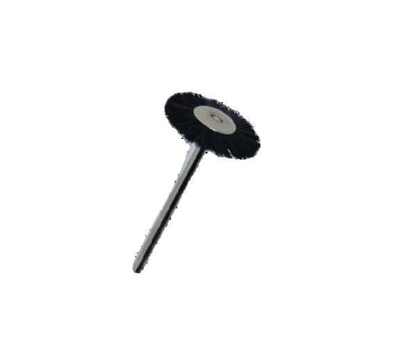 BLACK BRISTLE MOUNTED BRUSHES (Stiff 19mm)