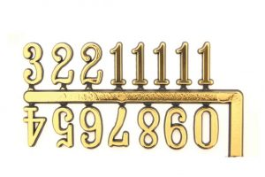 10mm Arabic Numerals