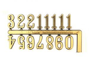 10mm Arabic Numerals